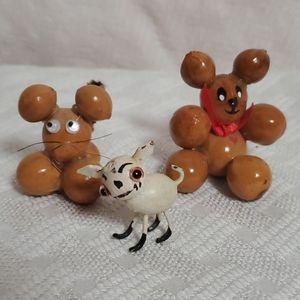🦕3/$10 Weird Vintage Cuties